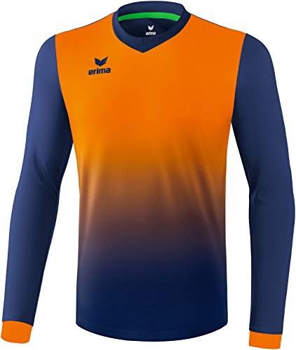 ERIMA Herren Trikot Leeds Trikot, new navy/neon orange, S, 3141834
