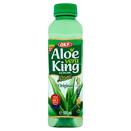 Okf - Bebida De Aloe Vera Organico Con Sabor Original 500Ml