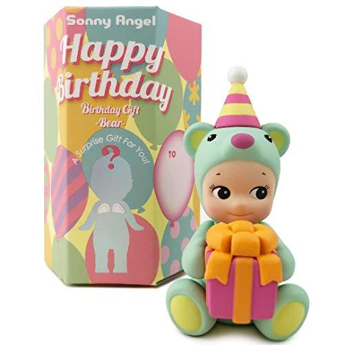 Sonny Angel Birthday Gift Bear Series - 2021 Limited Edition, Original Mini Figure (1) Assorted Sealed Blind Box