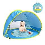 MXYPF Tienda Emergente Baby Beach Pool Carpa, Protección Solar Portátil con Protección contra Rayos UV, Casa De Juguetes para Niños, Carpas Al Aire Libre para Niños Pequeños