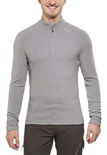 Odlo Midlayer 1/2 Zip Le Tour Pull Homme Grey Melange FR : M (Taille Fabricant : M)