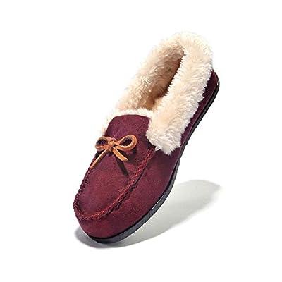 Womens Slipper Moccasin Loafers SlipOn Flat Shoe  07042021065358