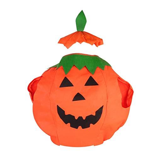 Veroda Unisex Vestido Calabaza Traje para la Fiesta de Disfraces de Halloween Tamaño del Adulto Ropa