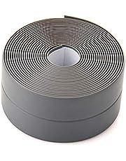 SANON Tape Kitstrip Waterdichte Kitstrip Zelfklevende Pvc-Afdichting Reparatietape Voor Badkuip Badkamer Douche Toilet Keuken en Muurrand 3. 2M * 22Mm