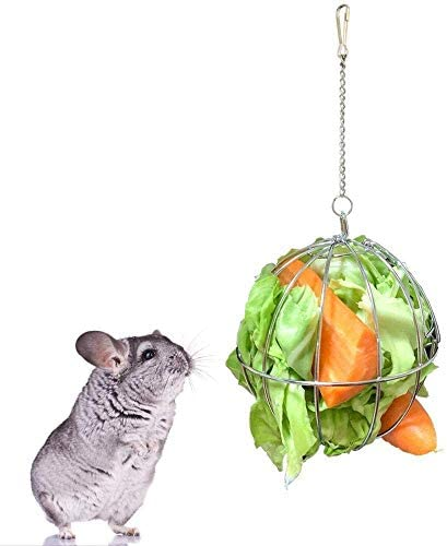 Rabbit Pet Hay Feeder Ball Pet Grass Frame Food Feeder Rabbit Grass Ball Hay Feeder Hay Ball product image