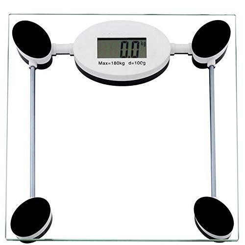 D-YYBB H-OUO balanzas Digitales, 180 Kg de pesaje electrónico bariátrica Humano Salud Personal Grasa Dieta Escalas del Peso Corporal báscula de baño, for el IMC, Músculo,por antropométrica