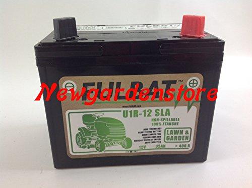 Newgardenstore Batería de gel de arranque eléctrico para tractor cortacésped, 12 V,...