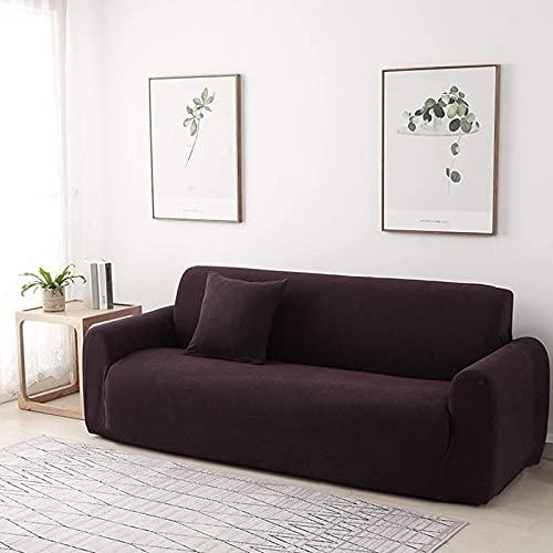 JYHJ Fundas de sofá elásticas,Funda de sofá suave antideslizante,Protector de muebles lavable con parte inferior elástica de espuma antideslizante para niños y mascotas