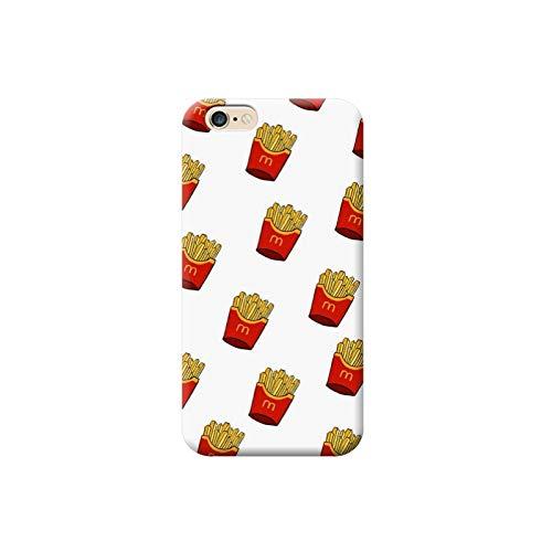 TheBigStock Cover Custodia per Tutti Modelli Apple iPhone x 8 7 6 6s 5 5s Plus 4 4s 5c TPU - AE26 Patatine Fritte MC Donald's, iPhone 6