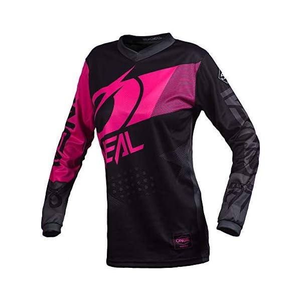 Cycling Jerseys O'Neal Element Jersey Factor Women black/pink Size XL 2020 Bike Jersey Longsleeve [tag]