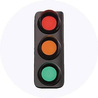 Azeeda 24 x 40mm Round 'Traffic Light' Stickers (SK00017585)