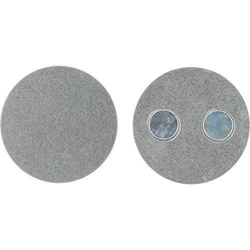 UNITEC Magnethalterung für Rauchmelder mini | 40 mm Durchmesser | extrem stark | selbstklebend