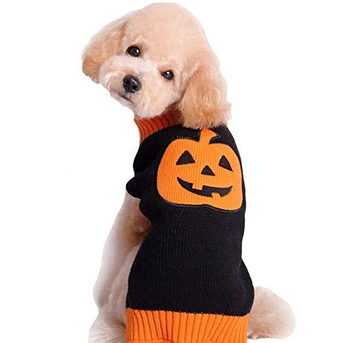 Disfraces para perros, ropa de algodón jersey para Navidad, para el invierno, abrigo de punto, sudadera para mascotas, perro, disfraz, vacaciones, fiesta, regalo para perro