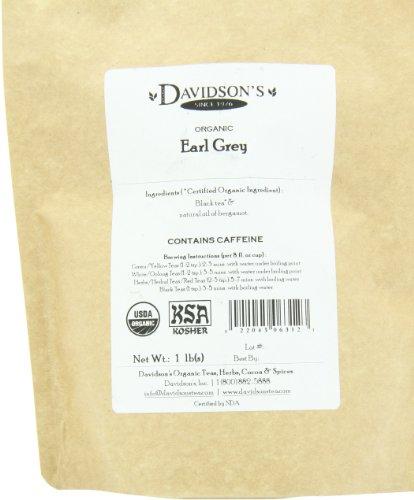 Davidson's Tea Bulk, Earl Grey, 16-Ounce Bag