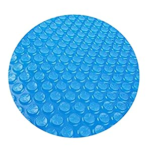 Having your pool covered helps to prevent evaporation which means adding less water and chemicals to your pool Great for foot easy set and metal framed round swimming pools, solar pool covers for inground pools, pool covers for above ground pools Spe...