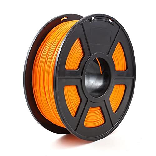 JIALUN ZFX-DAYIN, 1pc Stampante 3D PLA ABS filamento 1,75 Millimetri 1kg +/- 0,02 Millimetri 343m 2.2kg for 3D Stampante o 3  Penna 3D Stampa Plastic Printing Filament Cheap (Color : PLA Orange)