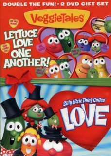 DVD VeggieTales® Lettuce Love One Another & Silly Little Thing Called Love Double Feature Book