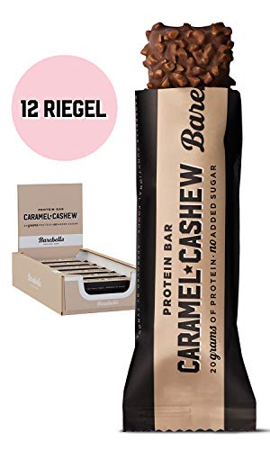 Barebells Protein Bar Caramel Cashew High Protein Zero Sugar Energy Drink No Carbs Company Vitamin and Caffeine Boost Flavoured Carbonated Workout Drinks for Muscle Performance and Recovery