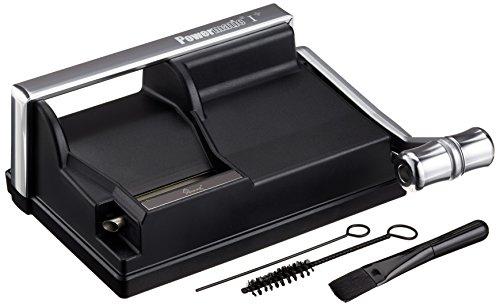 M&M MM Powermatic I Manual Injector Hebelstopfmaschine, Kunststoff, schwarz, 20 x 10 x 8 cm