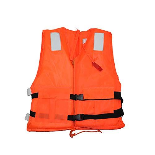 CCHM Chaleco De Baño, Chaleco Salvavidas De Flotabilidad Portátil para Adultos, Chaleco De Seguridad De Pesca Marítima Unisex, Bote Camuflaje Oxford Paño Chalecos De Buceo