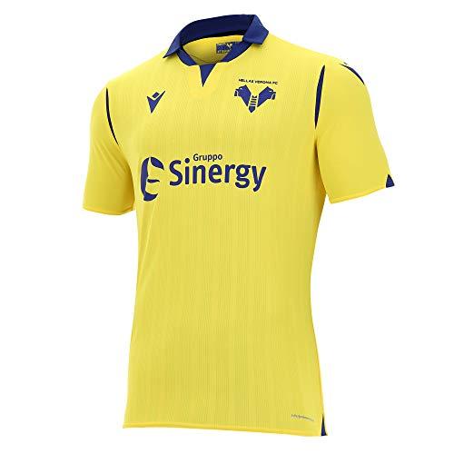 Hellas Verona FC 2020/2021 Herren Trikot Gara Away M/C, Gelb, XL