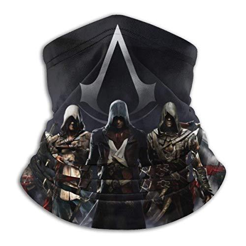 ZChun Assassins Creed - Pañuelos unisex de microfibra para la cara M-ask multifuncionales, bufanda, pasamontañas