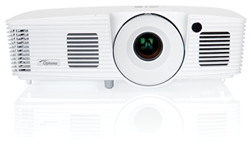 Optoma EH341 Full 3D 1080p 3500 Lumen DLP Multimedia Projector with MHL Enabled HDMI Port, 20,000:1 Contrast Ratio and 8,000 Hour Lamp Life