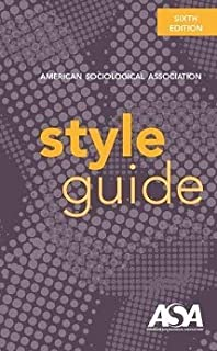 American Sociological Association Style Guide