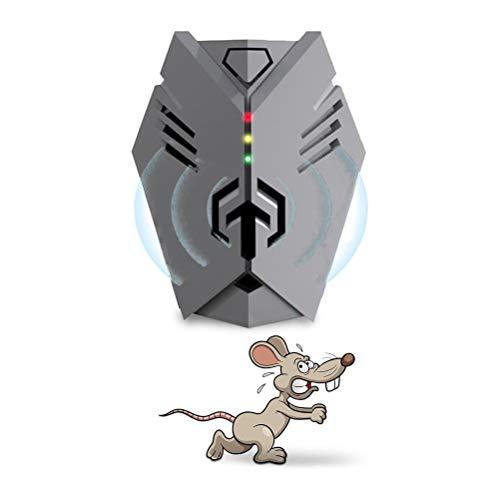 Ultraschall Schädlingsbekämpfer, Elektronische Insektenschutzmittel & Innenräumen Pest Repeller Plug-in für Murmeltier-Mäuse Nagetier-Pestaway