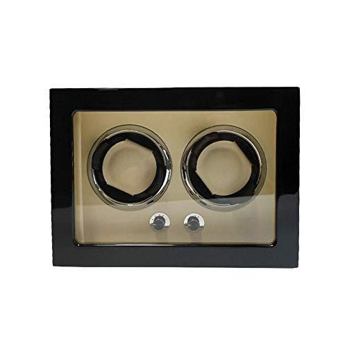 CCAN Reloj enrollador automático, 5 Modos de rotación, Motor silencioso, Caja de Almacenamiento de Relojes Happy Life