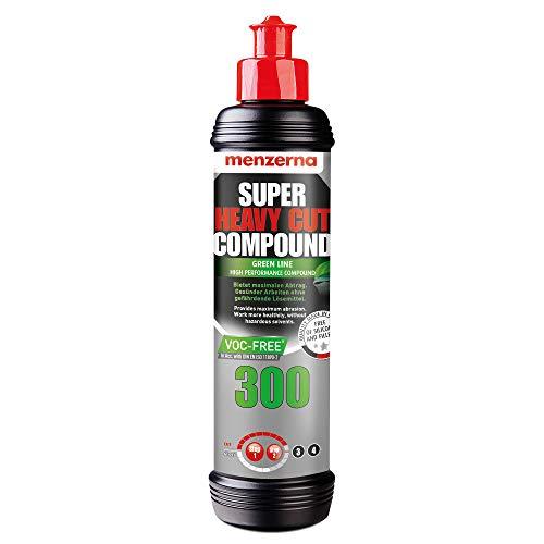 Menzerna Super Heavy Cut Compound 300 Green Line VOC-Free 250 ml