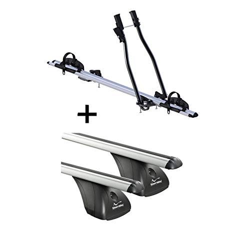 VDP fietsendrager SAGITTAR + imperiaal origineel compatibel met Mini Cooper 5-deurs vanaf 2014