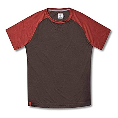 Flylow Nash Shirt - Men's Short Sleeve Polygiene Treated Shirt for Hiking, Mountain Biking and Trail Running