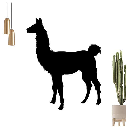 Kiwistar - Adhesivo decorativo para pared, diseño de alpaca de Perú, Bolivia y Ecuador, 6 tamaños