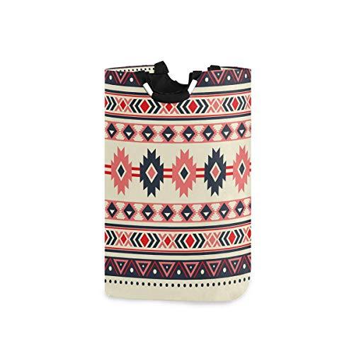 N\A Panier à Linge Native American Tribal Grand Panier Pliable Sac pour vêtements Sales Organisateur Sac à Linge paniers de Pique-Nique Imprimer Jouet Cadeau Organisateur