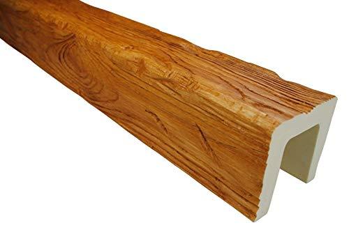 2 Meter | Balken | PU | Holzoptik | Deco Wood | 120x120mm | EQ006.H