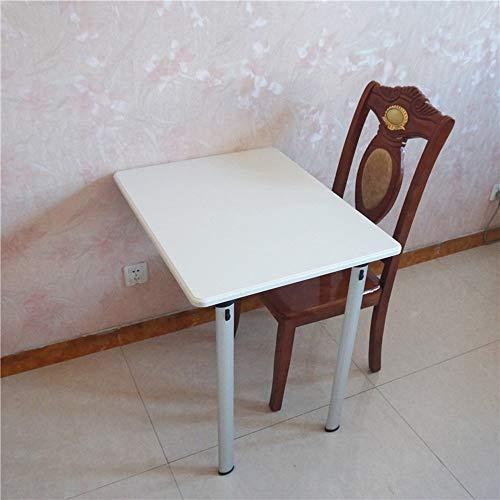 LLA Aan een muur hangen tafel muur tafel klaptafel eettafel kleine en middelgrote maaltijden buiten de ruimte studie computerschrijftafel B 74 x 60 x 74 cm (twee poten).