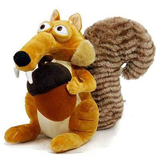 HPMM Juguetes de Peluche Lindo Dibujos Animados Ice Age Squirrel Relleno Peluche de Peluche Animal Peluche Juguete Ardilla Relleno Juego Juguete