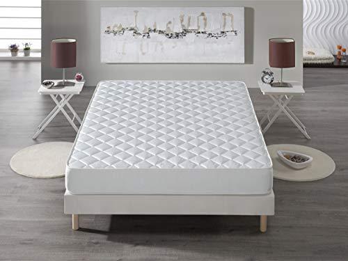 Bellavista Home Matratze Best Sellers 135x190x15 cm. Memory Form (Viskoelastische) Multi Zonen Komfort, Mittel H2/H3- Atmungsaktiv.