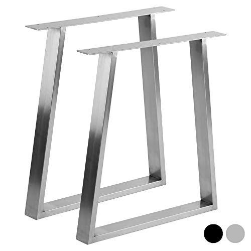 Hartleys Tischbeine in Trapezform, im Bauhaus-Stil – Verschiedene Größen & Farben