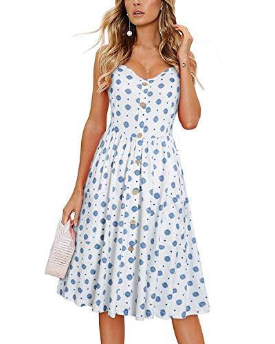 KILIG Women's Summer Dress Spagh...