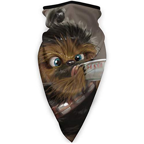 Chewbacca Baby Bandanas Face Mask Neck Gaiter Head Scarf For Men Women Skiing Balaclava Mouth Mask Neck Warmer