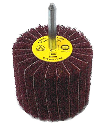 Klingspor NCS 600 vlakschuurmachine/lamellslijper | 60 x 50 mm (schachtdiameter: 6 mm) | 1 stuk | Korreling: naar keuze, 1