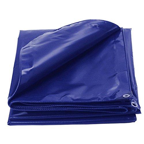 SSHA Lona Azul a Prueba de Polvo a Prueba de Agua Tarpaulina Tarpa de camionetas Tarro multifunción, 500 g/m², Grosor 0.4mm, 500 g/m² Lona Impermeable (Size : 4MX4M)