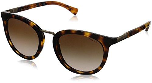 Óculos de Sol Ralph by Ralph Lauren RA5207 150613 Tartaruga Lente Marrom Degradê Tam 52