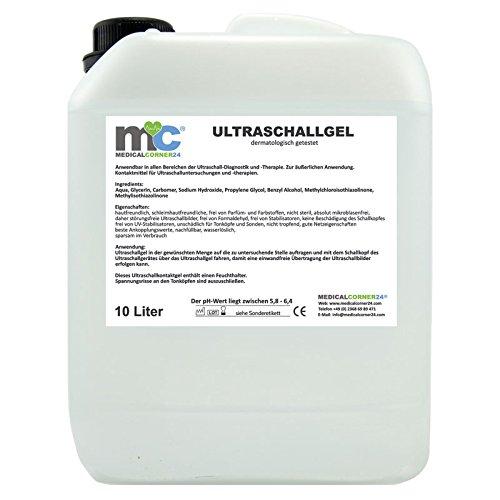10 Liter Ultraschallgel Gel 10kg Kanister Sonographie Leitgel Reizstrom Ultraschallgel