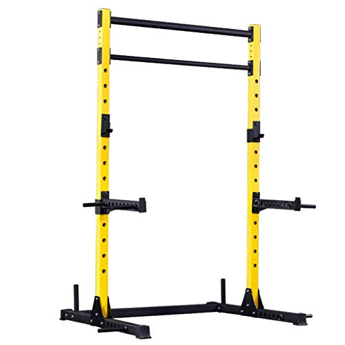 DAGCOT Inicio Gym Power Tower Fuerza Entrenamiento Entrenamiento Equipo de Entrenamiento Fitness Gear Power Tower, Rack Squat, Equipo de Aptitud for el hogar, Multifuncional Piso Horizontal Bar Marco