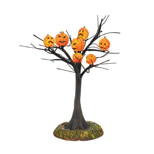 Pumpkins Lit Tree