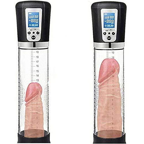NAYIYE Male Automatic Effective Enlarge Enhancement Men Bigger Pê~NIS Growth Power Vâcuum Pump High Vacuum Pènis Pump Boyfriend's Best Gift-Black