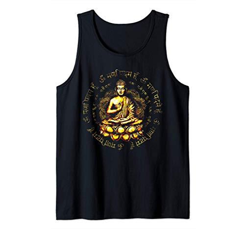 Zen Buddha yoga consapevolezza della pace Canotta